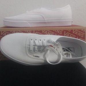 New White Vans